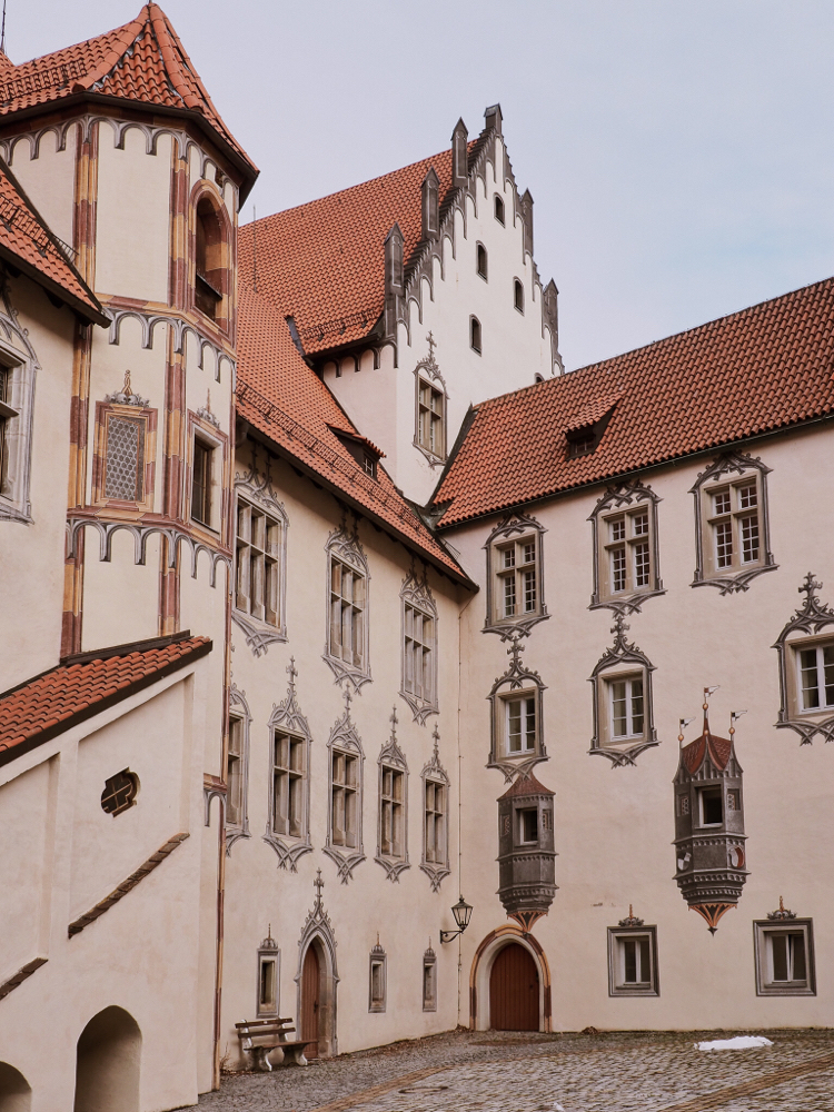 Hohes Schloss Füssen (Medieval Castle of Füssen)