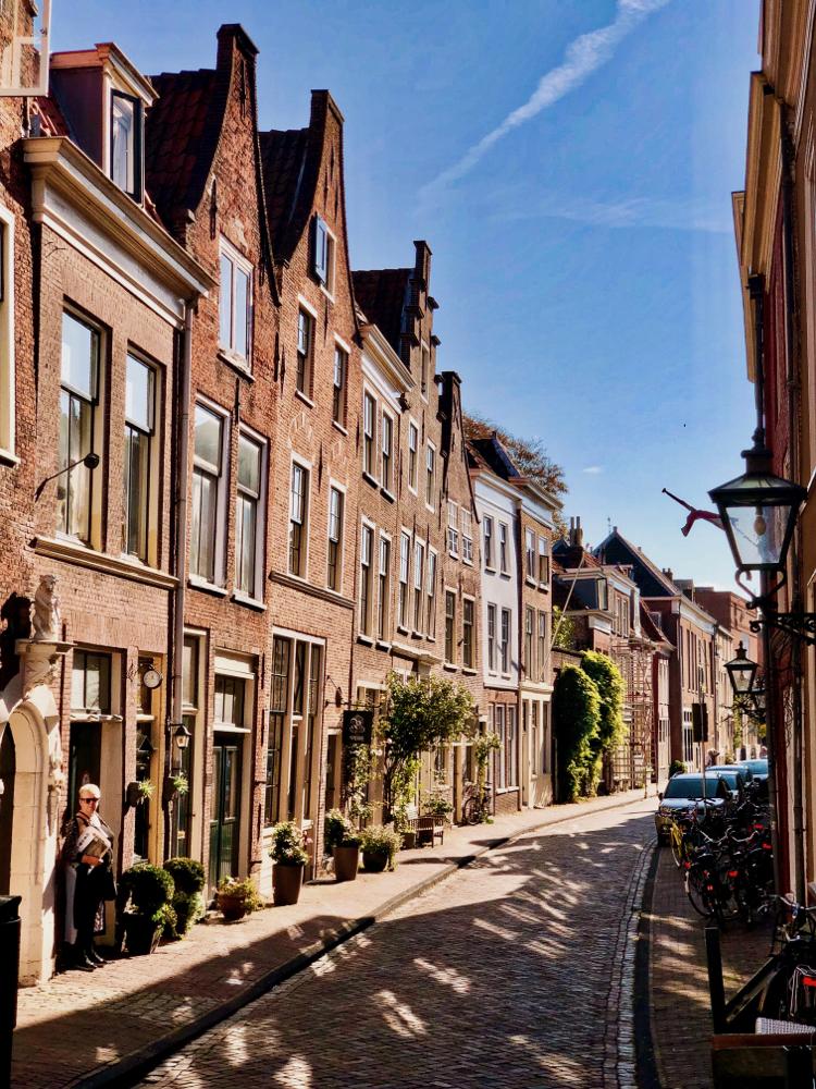 Langebrug in Leiden