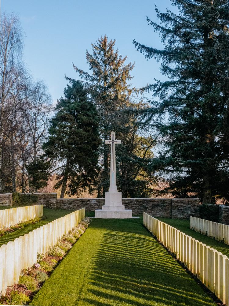 Y Ravine Cemetery in Beaumont-Hamel Newfoundland Memorial (WWI Somme Battlefields)