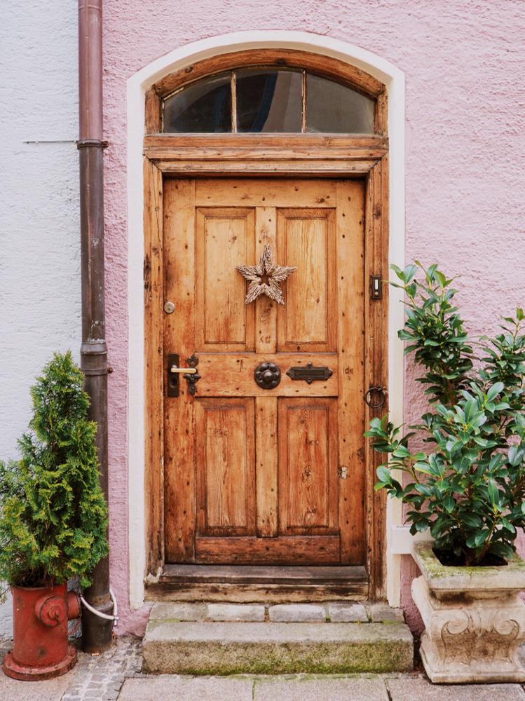 Door in Füssen (Bavaria)