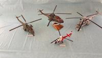 Maquettes d'hélicoptères réalisées par Georges Jean-Marie aaalat-languedoc-roussillon.fr