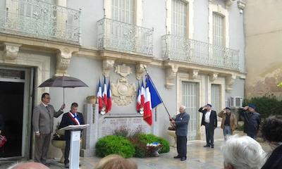 Cérémonie du 8 Mai à NÉBIAN (8 mai 2016) aaalat-languedoc-roussillon.fr