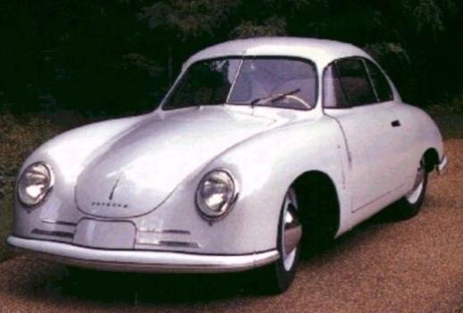 """Viens no pirmajiem """"Porsche 356"""" ar 40zs dzinēju"""