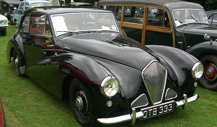 1954 Healey Tickford.
