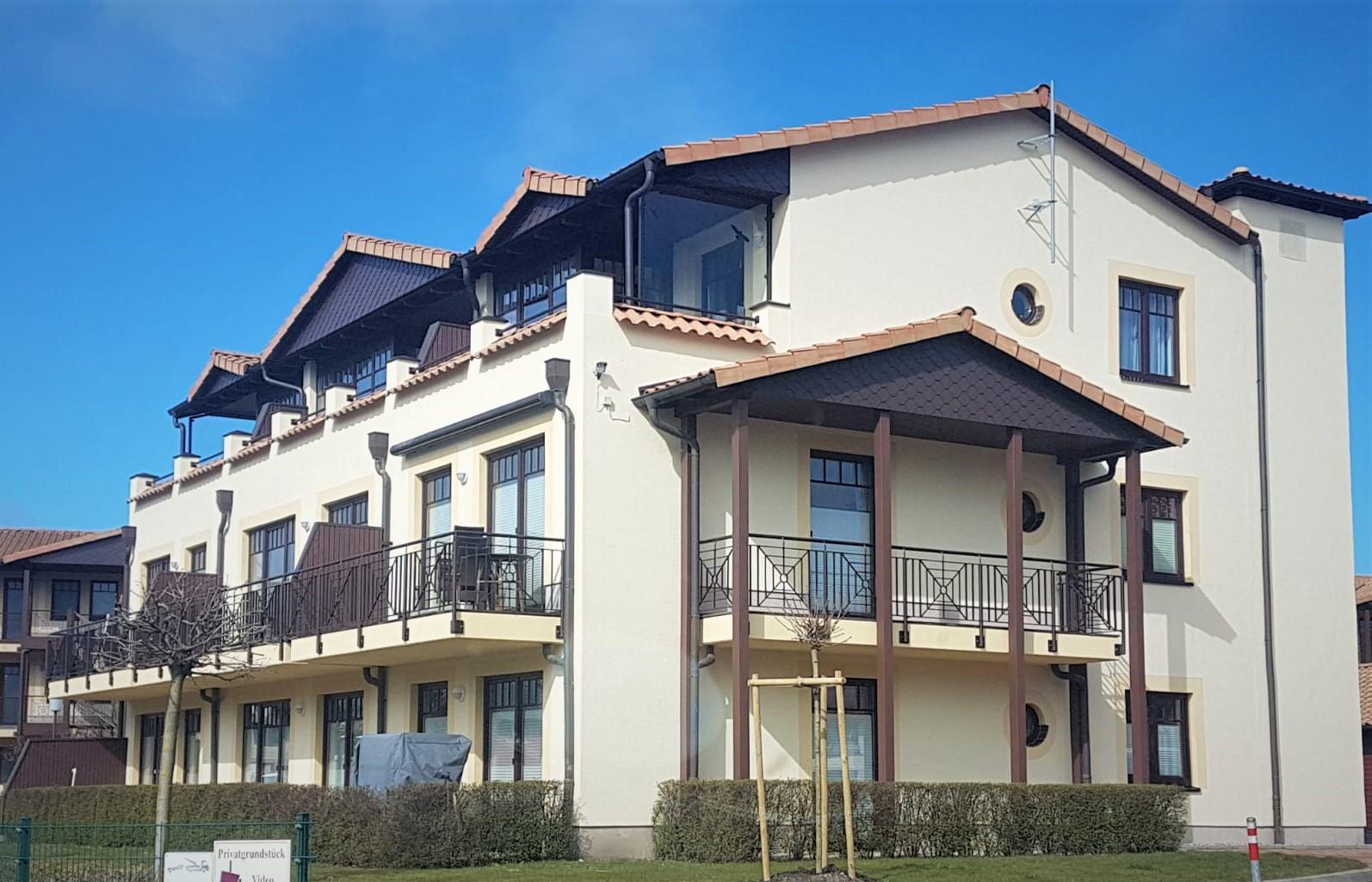 Appartementhaus in Kühlungsborn - Fassadengestaltung
