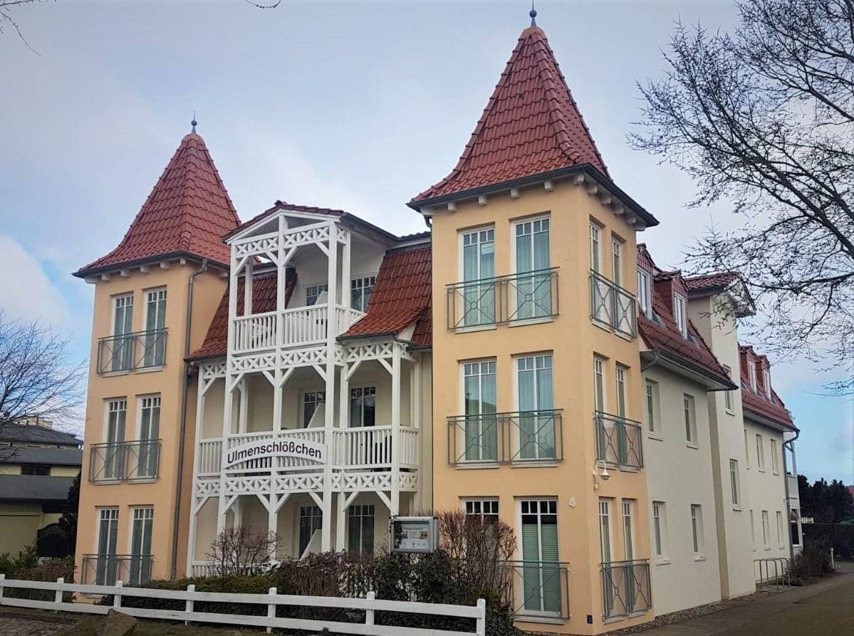 Appartementhaus Ulmenschlösschen in Kühlungsborn - Fassadengestaltung