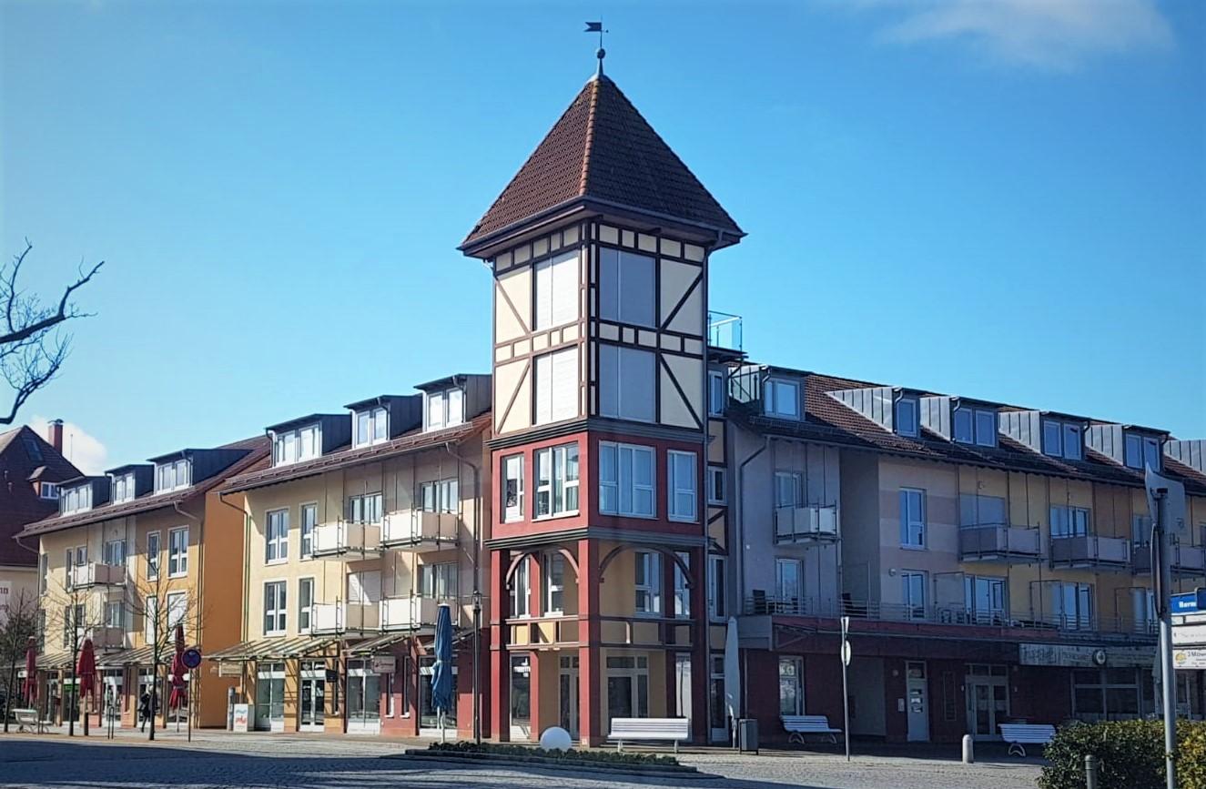 Appartementanlage Ostseeblick in Kühlungsborn - Fassadengestaltung
