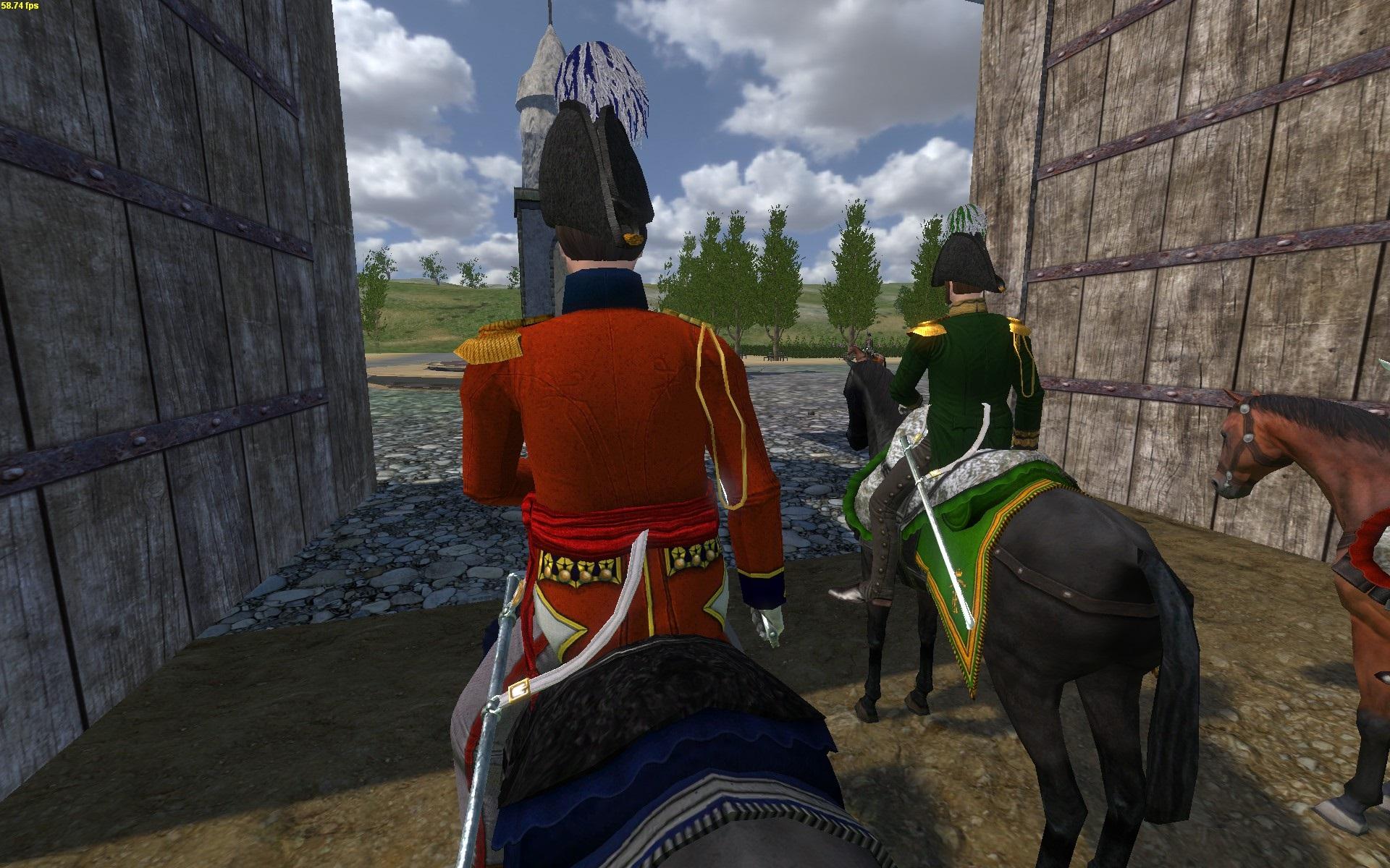 Major T3cHn1k zu Pferd [hinten]