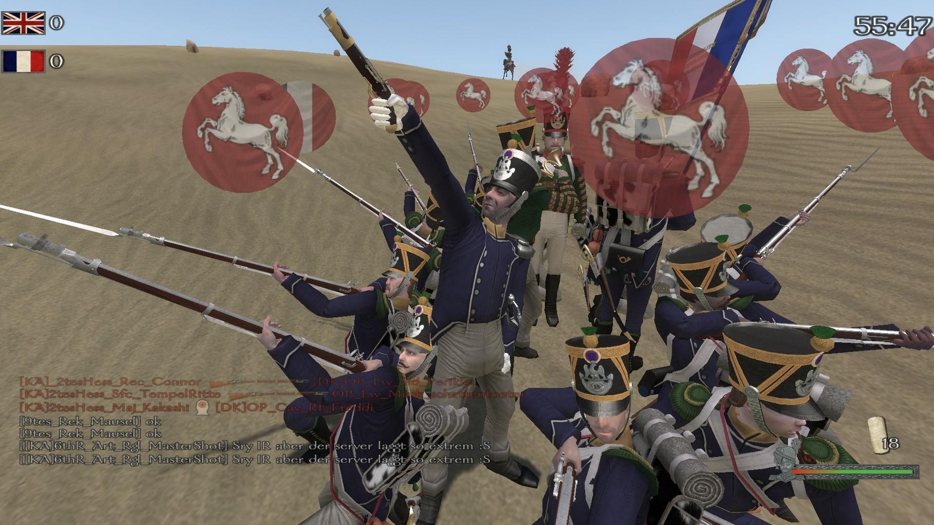 Karrée mit Besuchern der AR Nr1 Jäger. Simsniper Approves :3