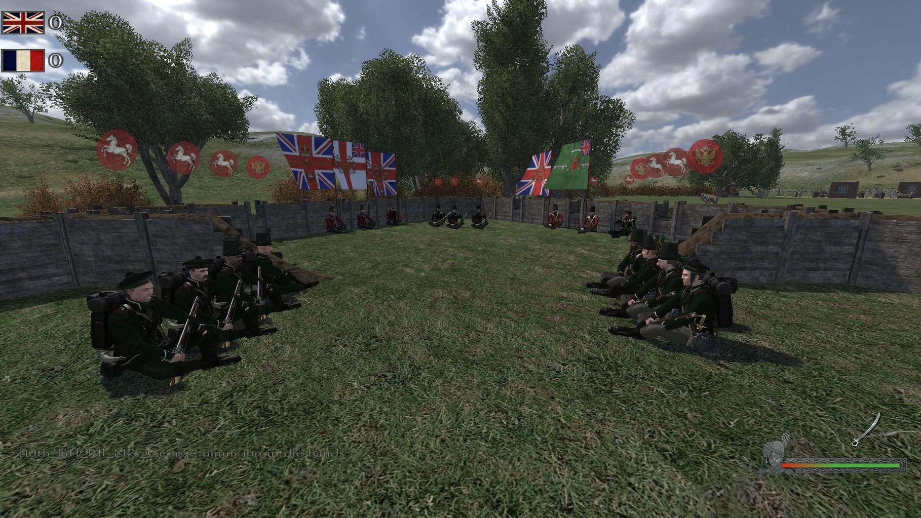 Anführer der Jäger Captain Simsniper wird zum Major Befördert.