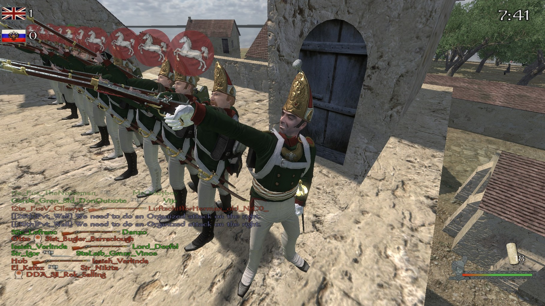 Siege - 2tes Swarmingevent.
