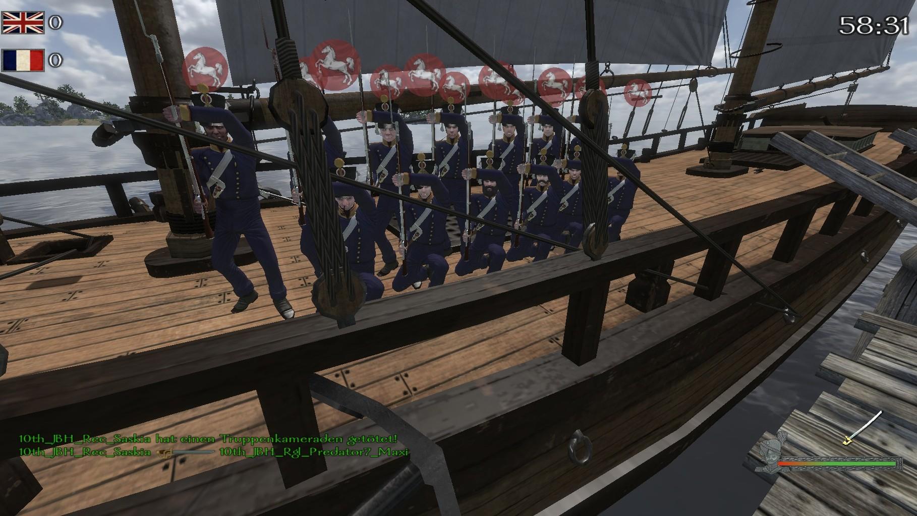 Naval Event. Marines allzeit Bereit.