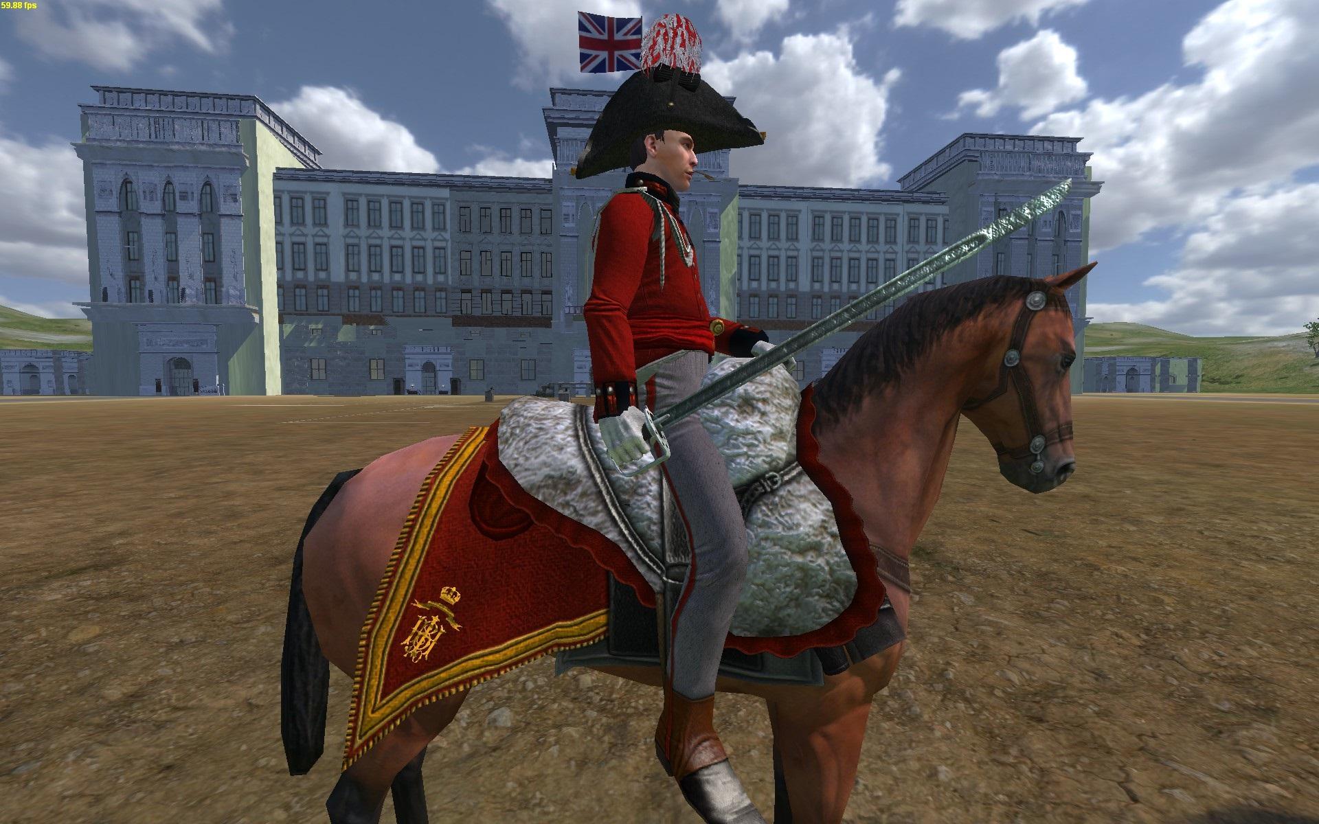 Lieutenant-Colonel JJ zu Pferd [seite]
