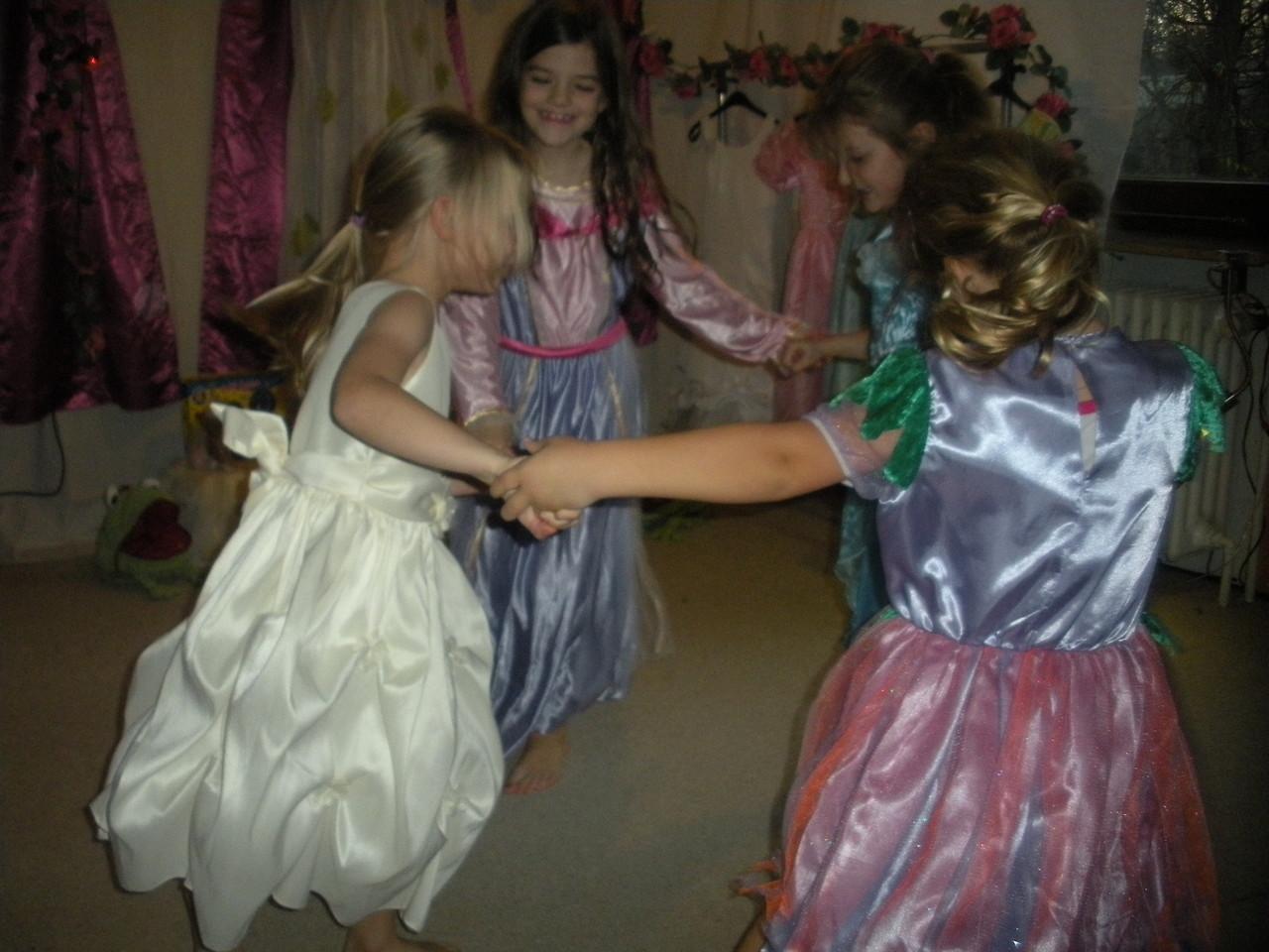 Prinzessinnenparty und Elfenparty