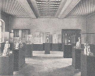 Saal mit den Statuen des Alten Reichs