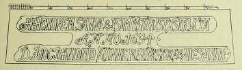 Bild 3: Inschrift