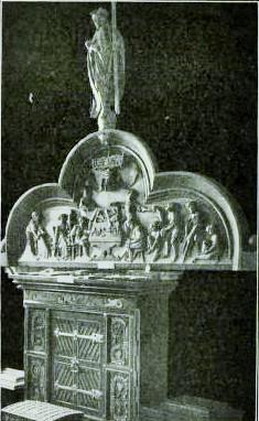Bild 1: ehemal. Türsturz vom Hause des Schuhmacheramtes