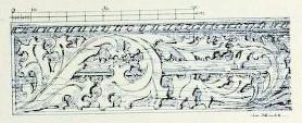 Bild 5: Blattfries an der Setzschwelle
