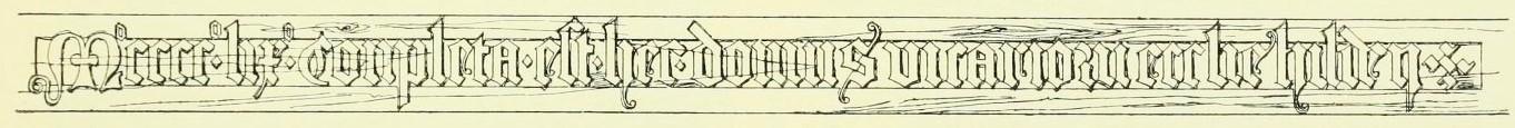 Bild 1: Inschrift der Setzschwelle