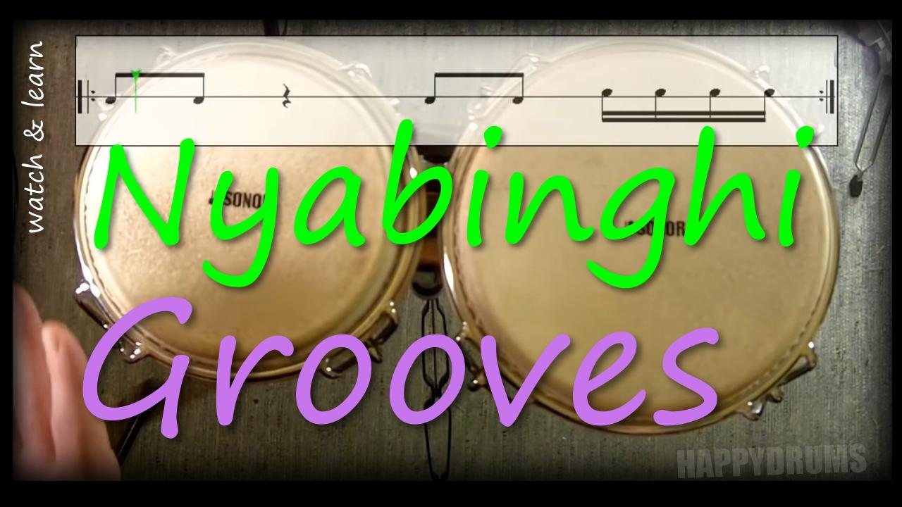 bongos nyabinghi grooves