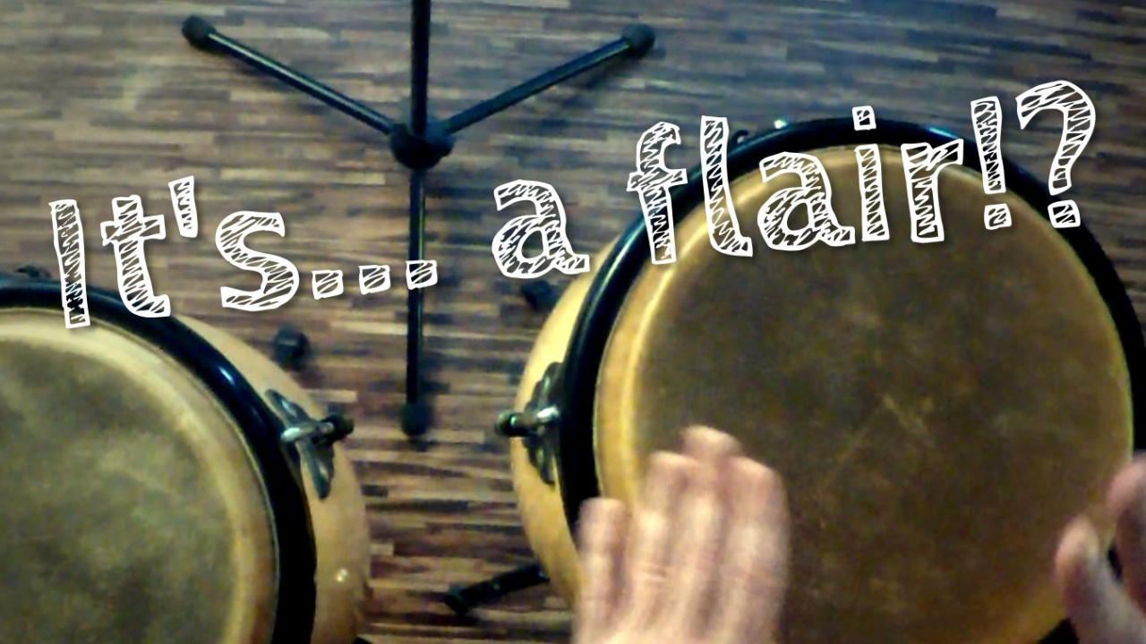 Personal Groove Congas Flair