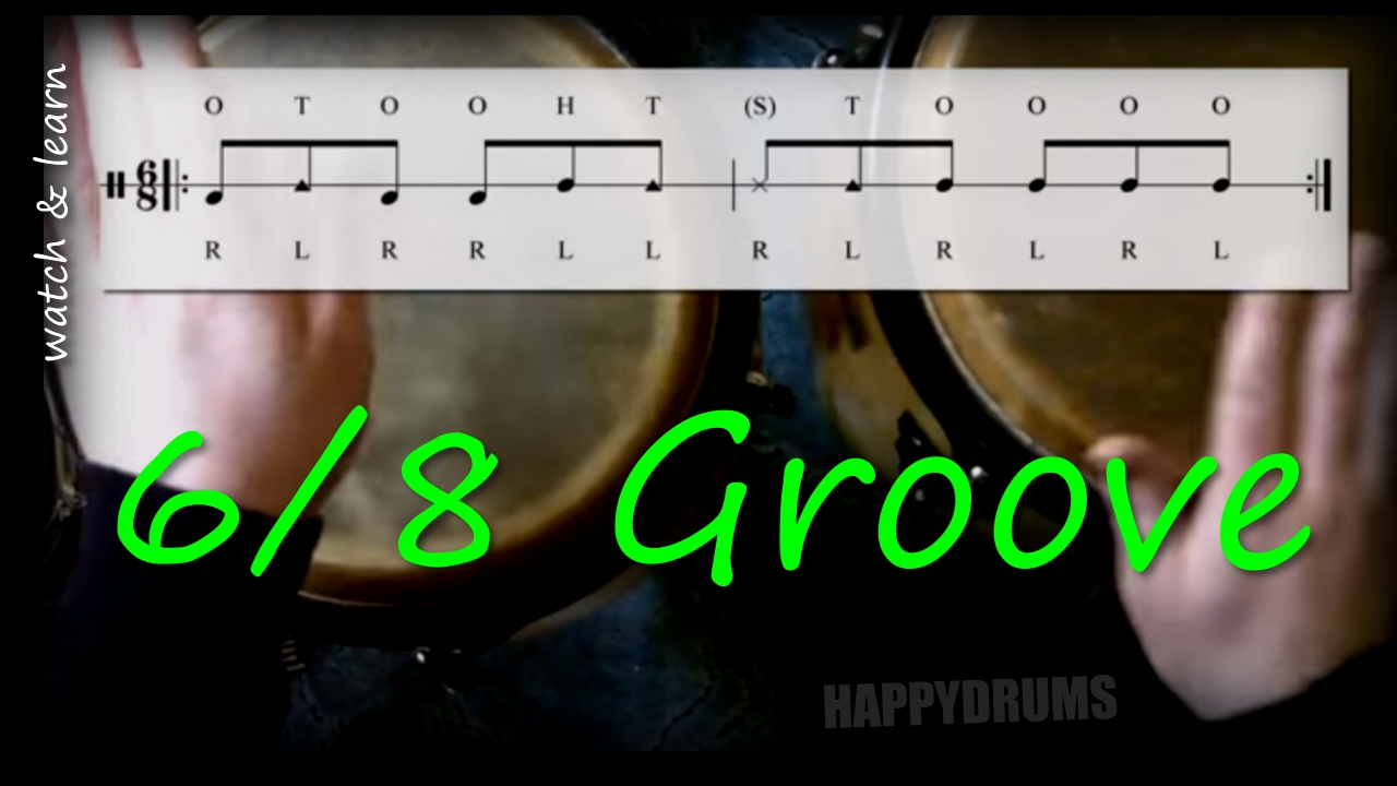 6/8 Congas Groove