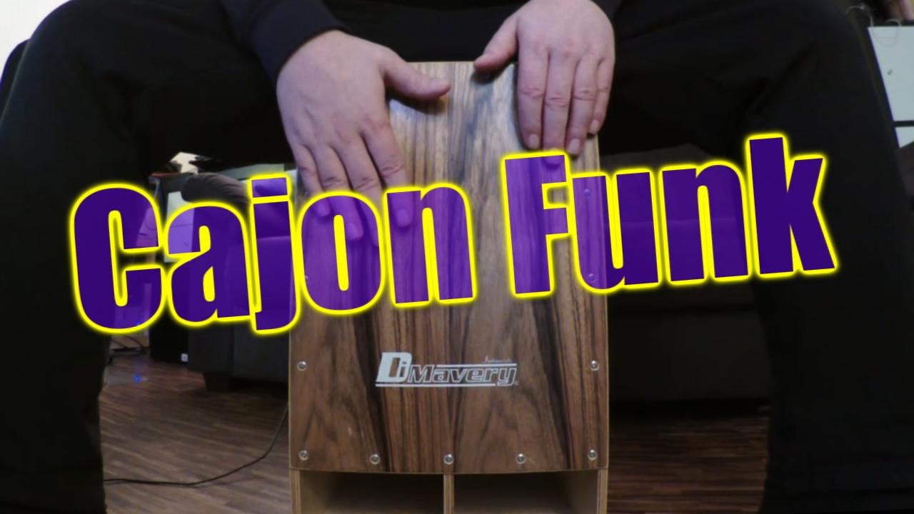 cajon funk groove watch &learn