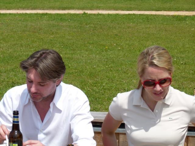 Unser Ehrengast Judith Ragers und Ihr Mann