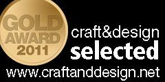Gold Award Craft&Design Magazine Selected for Precious Metals & Jewellery