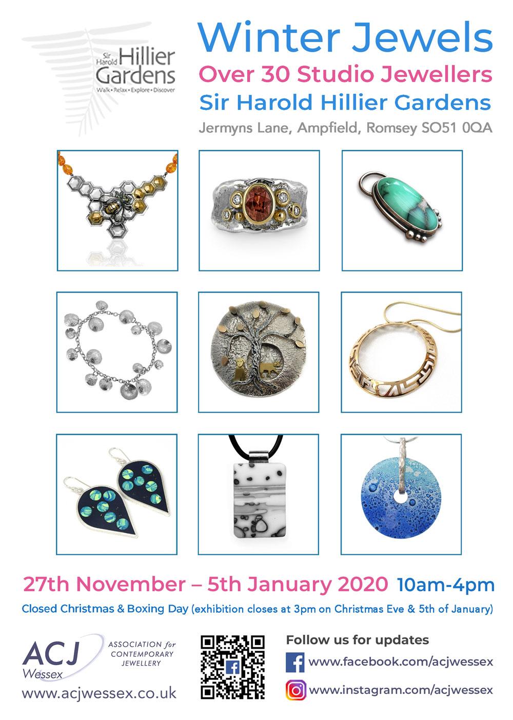 Winter Jewels Jewellery Exhibition Flyers 1