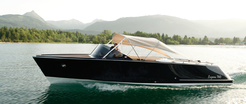 No license for a motorboat? No problem with Peter Gastl's E-boats!