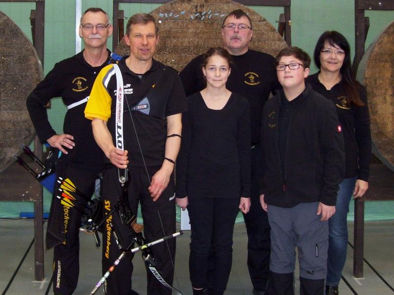 Unsere Teilnehmer (v.l.n.r.): Thomas Köhler, Andreas Scherer, Jule Sekels, Ottmar Dietz, Tristan Eigenwillig, Gaby Köhler