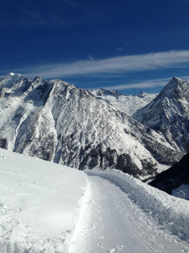 Herrlich präparierte Winterwanderwege