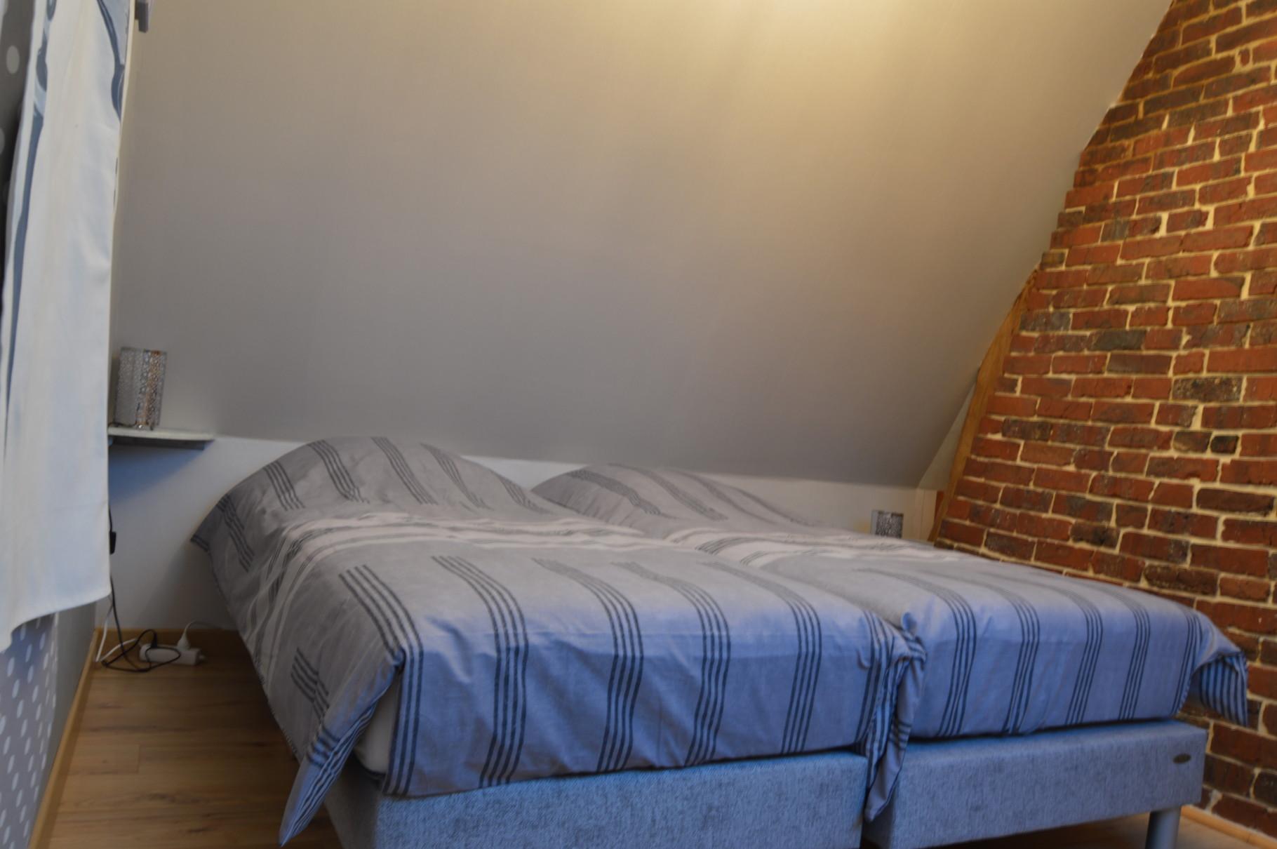 la deuxième chambre à coucher aux couleurs de l'hiver