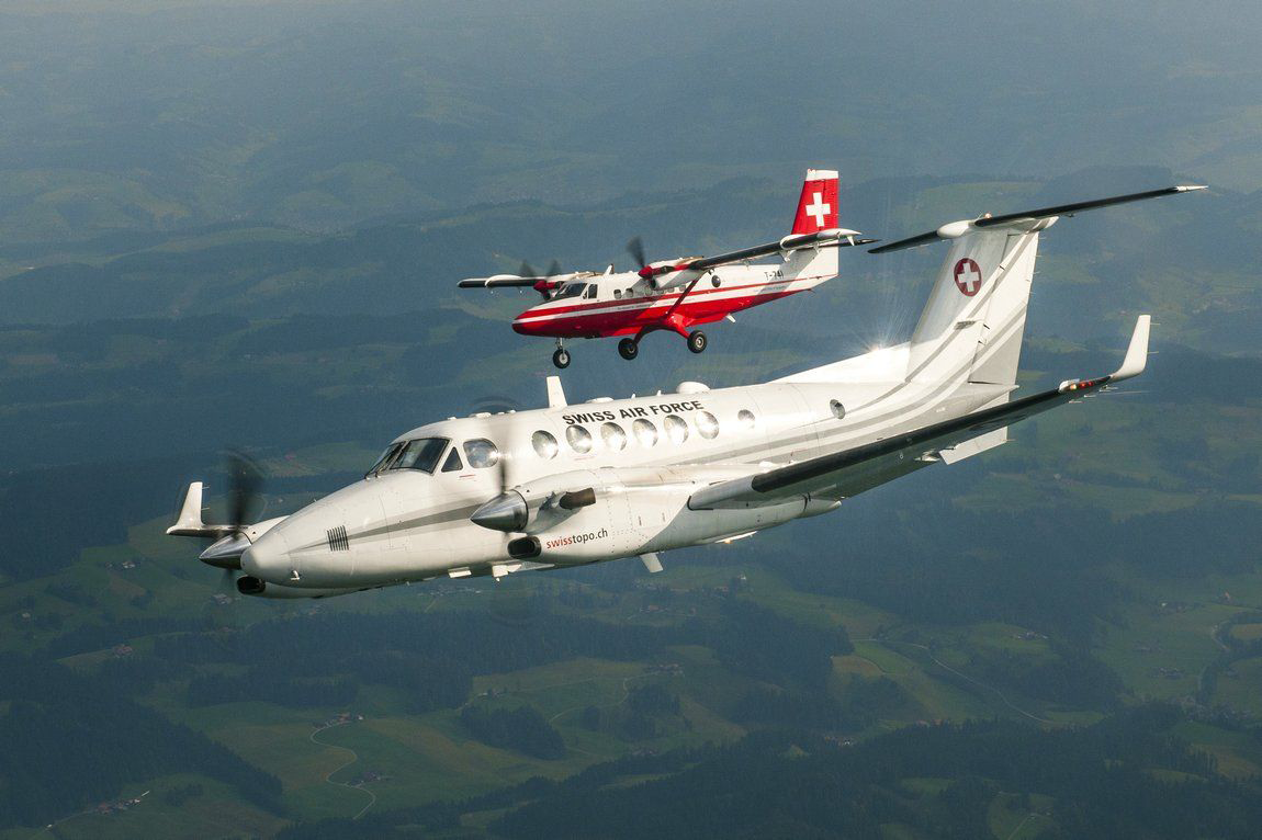 Die Vermessungsflieger: Super King Air und Twin Otter