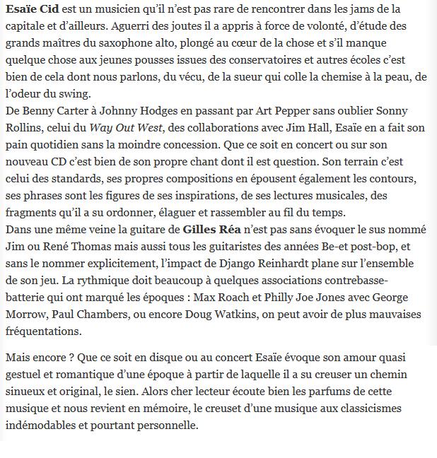 Pierre Gros, culturejazz.fr, 20 juillet 2017
