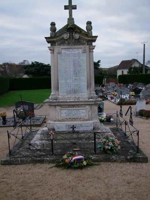 Monument aux Morts de Vicq-sur-Gartempe