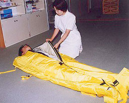 患者移送用保温バッグ