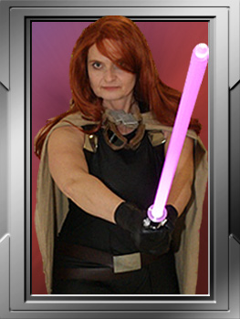 Mara Jade: Black bodysuit; DS 10803