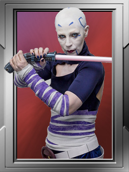 Clone Wars, Asajj Ventress; DS 20370