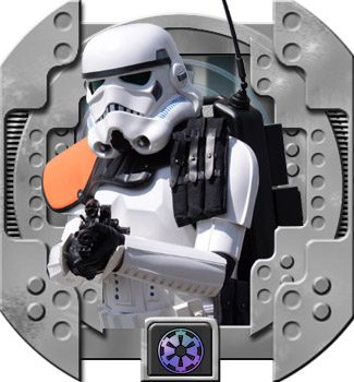"Battlefront (Game) Stormtrooper ""Heavy Weapons Trooper""; TK 47777"