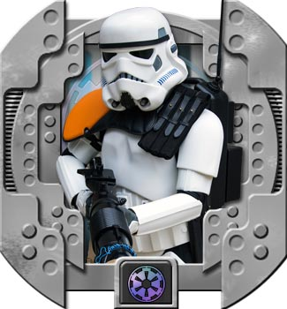 "Battlefront (Game) Stormtrooper ""Heavy Weapons Trooper""; TK 92673"