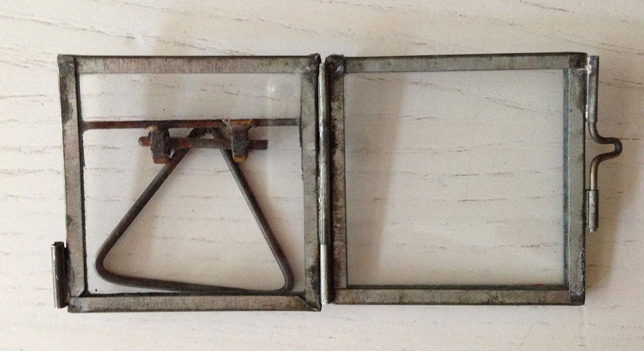 Miniglasrahmen ohne Inhalt - Morlok-Kunsthandwerk Acrylmalerei