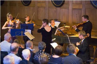 Das Ensemble des Mainzer Kammerorchesters