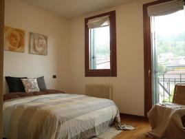 Dopo: ecco una bella camera da letto