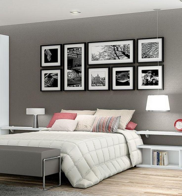 Quadri semplici neri, identici, foto in bianco/nero