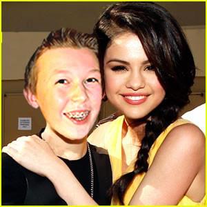 Joel with Selena