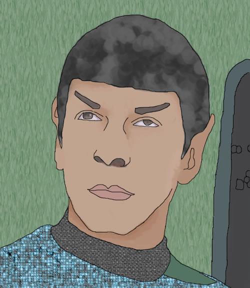 """Spock"" - NayaP"