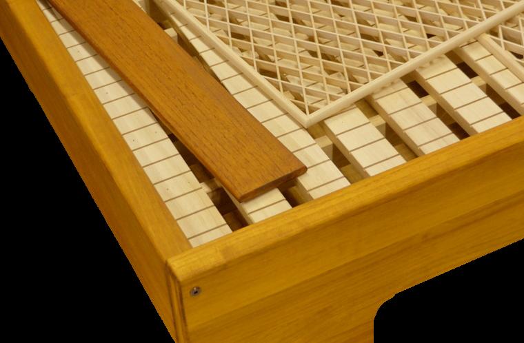 組子ベッド ここちe - 両長板タイプ