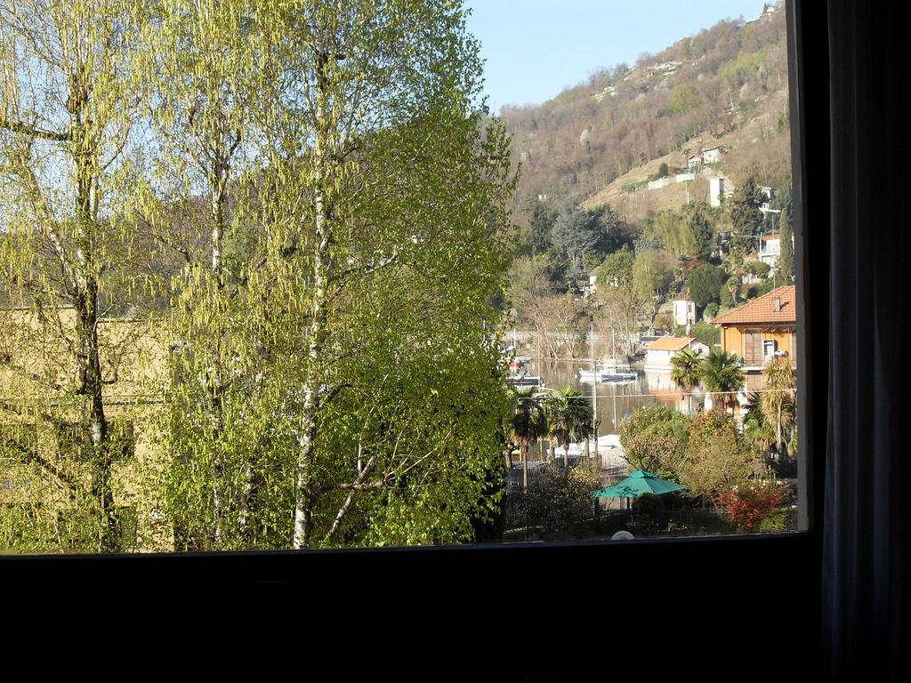 Blick vom Wohnzimmer-Fenster